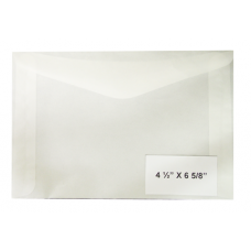 Guardhouse Glassines - #8 Glassine Envelopes - Qty: 1000 #16582