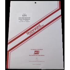 Showgard - 171 Showgard Helping Children Learn ETC (Clear) #1715