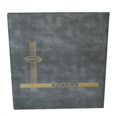Supersafe - #10 Cover Album - Vertical Pocket (Gray)