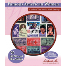HE Harris & Co - Famous American Women -- 20 Stamps #18552