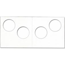 Cowens Mylar Cardboard 2 Hole 2x2's 100ct Pack