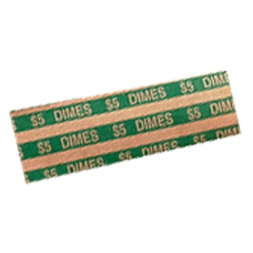 MMF - Flat Dime Coin Wrappers 1,000ct