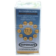 Supersafe - Paper 2x2s - Nickel - 50ct