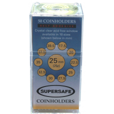 Supersafe - Paper 2x2s - Quarter - 50ct