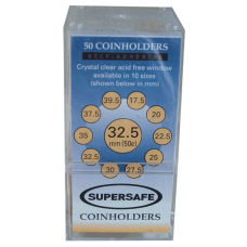 Supersafe - Paper 2x2s - Half Dollar - 50ct