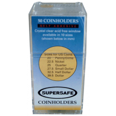 Supersafe - Paper 2x2s - Lg. Dollar - 50ct