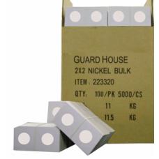 Guardhouse - Guardhouse 2x2 Nickel - 100/Bundle #223320