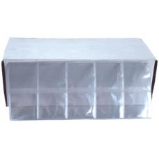 Frame A Coin - Crown 3 1/4x3 1/4 Vinyl Coin Flips - 1000 per box