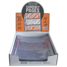 Supersafe - 100x 3 Pocket Large Currency Pages