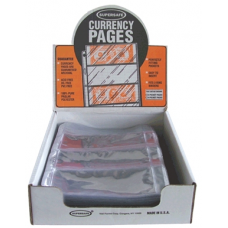 Supersafe - 100x 4 Pocket Modern Currency Pages