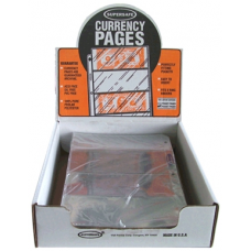 Supersafe - 100x 4 Pocket Archival Quality Modern Currency Pages