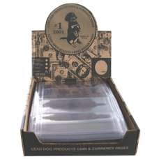 Lead Dog - 100x 4 Pocket Modern Currency Pages