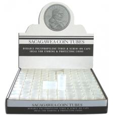 HE Harris & Co - SAC Round Polyproplene Coin Tube-100/bx #2858