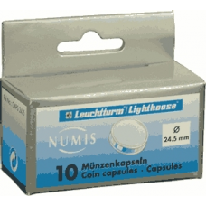 Lighthouse - 24.5mm - Coin Capsules - Pack of 10