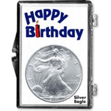 Edgar Marcus - American Silver Eagle - Happy Birthday