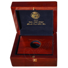 Ultra High Relief 1oz Gold Coin Wood Box #UH1