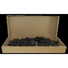 Air Tite 10mm Black Rings - Bulk 250 pack