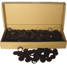 Air-Tite - 13mm Rings - Box of 250 - Black