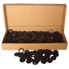 Air-Tite - 17mm Rings - Box of 250 - Black