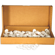 Air-Tite - 26mm Rings - Box of 250 - White