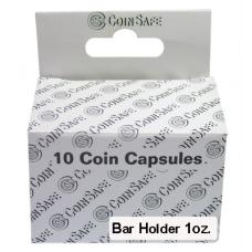 CoinSafe - Bar Coin Holder for 1oz Bars - 10ct