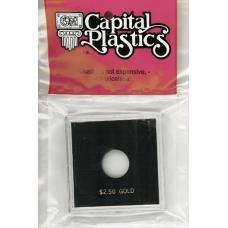 Capital Plastics Krown Coin Holder - $2.50 Gold