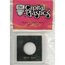 Capital Plastics Krown Coin Holder - $10 Gold