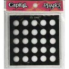 Capital Plastics - U.S. Cents - 25 Ports - Galaxy - GX51A