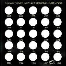 Capital Plastics - Lincoln Cents 1934-1958 - Date Set - GX451W