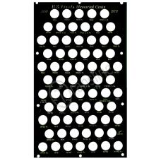 Capital Plastics - Lincoln Memorial Cents 1959-1979 PDS Black