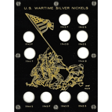 Capital Plastics - Wartime Nickel Set 1942-1945 - Black