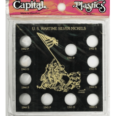 Capital Plastics - Wartime Nickel Set 1942-1945 - Galaxy - Black