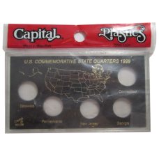 Capital Plastics - Commemorative Quarters Year of 1999