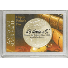 Frosty Case - 1 Hole - Silver Eagle - Happy Fathers Day