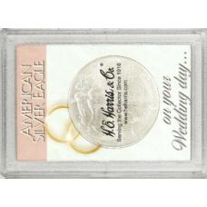 Frosty Case - 1 Hole - Silver Eagle - Wedding Day
