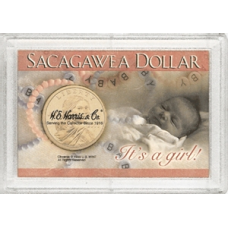 Frosty Case - 1 Holes - Sacagawea - It's a Girl!