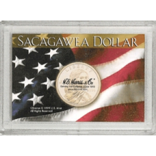 Frosty Case - 1 Hole - Sacagawea - Flag