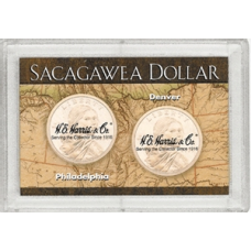 Frosty Case - 2 Holes - Sacagawea - Map