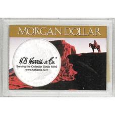 Frosty Case - 1 Hole - Morgan Dollar - Western Motif