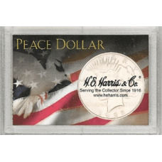 Frosty Case - 1 Hole - Morgan Dollar - Dove and Flag