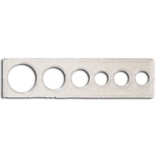 Whitman - 2x7 Mint/Proof Set Strip 6 Hole Snaplock - 25ct Pack