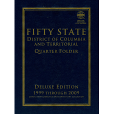 Whitman Deluxe Edition - Commemorative Quarter Folder P&D