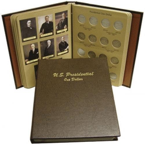 NEW DANSCO U.S PRESIDENTIAL ONE DOLLAR  BOOK #7184