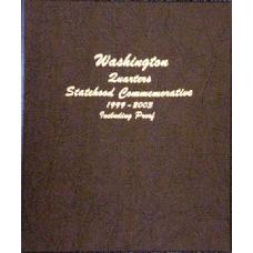 Statehood Quarters 1999-2003 PDS Proof Dansco #8143