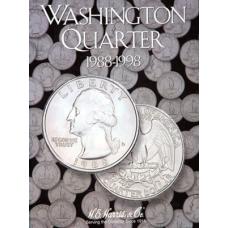 HE Harris - Washington Quarters #4 1988-1998 - Coin Folder
