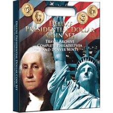 Whitman - Deluxe Presidential Dollar Coin - Traveling Archive P&