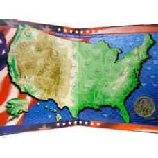 New Quarter Co - US Commemorative Quarter Map - Millennium editi