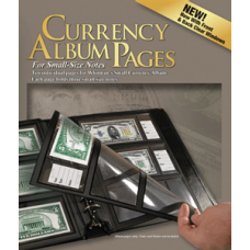 Whitman - 10 Premium Currency Album Refill Pages - Small Notes -