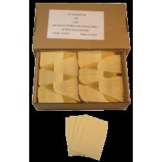 Guardhouse - Archival Paper Coin Envelope, Tan/Kraft - Qty: 500