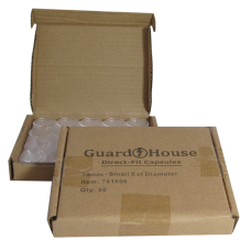 Guardhouse Round Coin Capsules - Cent Direct fit - 50ct